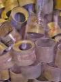 Zbylé plechovky nacistického plynu Cyklonu B