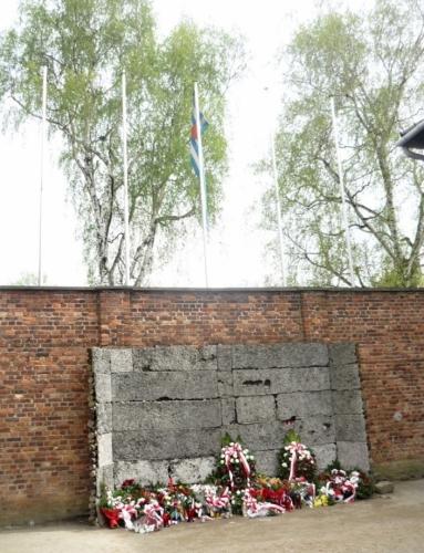 Památník obětem, kteří zde zahynuli, především zastřelením