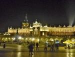 Velký rynek ala osvětlené krakovské náměstí