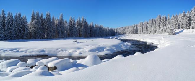 Panorama Roklanského potoka.