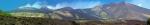 Panoráma masívu Etny z jednoho SOS parkoviště