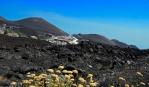Pohled na turistické centrum Etna-jih od Bar Ristorante La Cantoniera