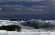 Vlny poskytovaly i úžasnou barevnou podívanou