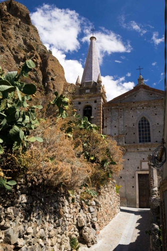 Pentidattilo - kostel
