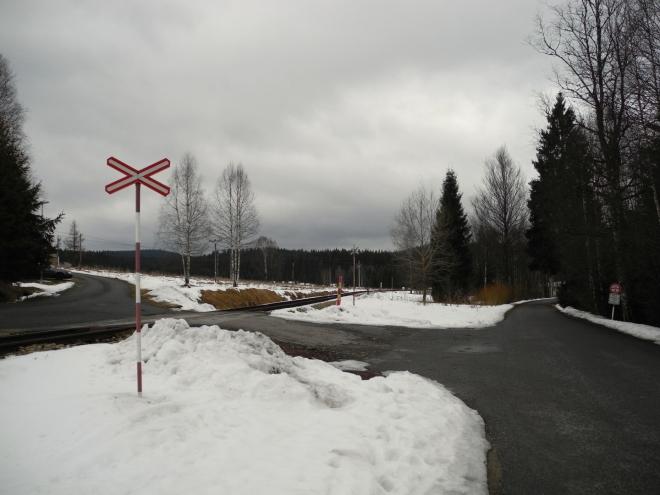 Již první kroky dokazují, že po předchozích deštích mnoho ze sněhu nezbylo.