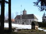 Kostek v Haidmühle je vskutku mohutný...