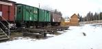 Muzeum ve vagónech je hned vedle vlakové zastávky, kde je konečná. v zimě je uzavřeno.