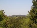 Pohled na vrchol Radhoště (2007, Hana Šimková)