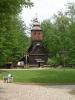 Kostel v rožnovském skanzenu (2007, Hana Šimková)