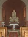 Interiér kaple sv. Cyrila a sv. Metoděje na Radhošti (Tomáš Novotný)