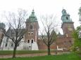 Katedrála na Wawelu zezadu