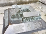 Maketa kostela svatého Františka z Assisi