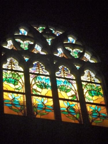 Jedna z krásných vitráží
