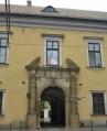 Biskupský palác Jana Pavla II. s oknem