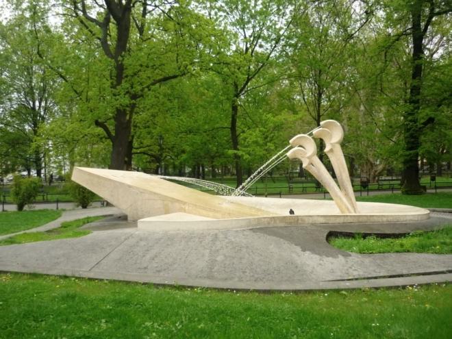 Moderní fontána
