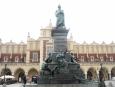 Pomník polského romantického spisovatele Adama Mickiewicze
