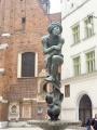 Mosazná fontána chlapce