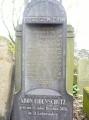Pomník jednoho ze židů - Aron Eibenschütz