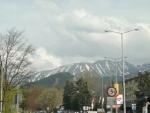 Výhled na hory v Zakopane