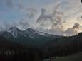 Výhled na Vysoké Tatry z hotelu