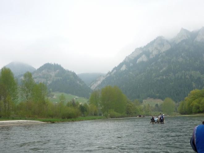 Malebná krása meandrů na Dunajci a Pienin