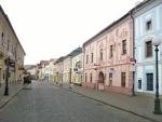 Jedna z ulic v Kežmarku