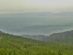 Pohled do údolí od Sliezského domu