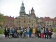 Společná fotografie z Krakova