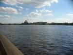 Riga, levý břeh Daugavy