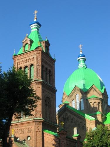Pravoslavný kostel Všech svatých (Visu svēto pareizticīgo baznīca)
