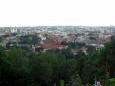 Pohled na Vilnius z kopce Tří křížů