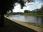 Řeka Neris, Vilnius