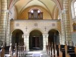 Kostelní zvon nechal ulít Václav Koc z Dobrše již roku 1601 u Dionyse Schulthese. Uvnitř můžeme obdivovat nejen zvláštní malbu, ale i dochované varhany z dílny sušického varhanáře Fischpery.