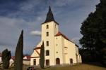 Hřbitovní kostel Panny Marie je gotický a byl založen r. 1352. Současná podoba pochází z doby po požáru r. 1591. Jeho nejcennější částí je gotická Kabátovská kaple z 15. století s hvězdovou klenbou a řezaným oltářem z doby kolem r. 1700.