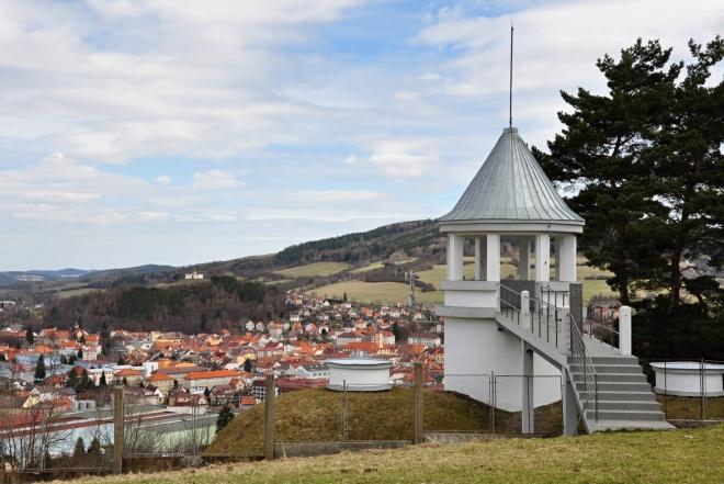 Dnes je horní část věžičky zpřístupněna návštěvníkům a poskytuje další z mnoha pohledů na město. Pro nás již bez překvapení...
