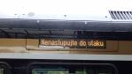 vlak se musí uklidit a naložit zásoby na cestu na sever Moravy ...
