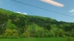 kombinace několika zelených v rychlosti kolem 140 km za hodinu ...