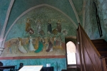 Zvíkov - nástěnné malby v Taneční síni (též Svatební či Kurfiřtská)