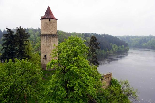 Zvíkov - věž Hláska