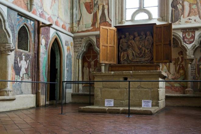 Zvíkov - kaple svatého Václava