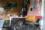 Zbonín - retro hospůdka, venkovní část