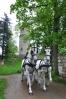 ... a zatím Píseckou branou bílí koně vezou nevěstu bledou, ale se srdcem tak žhavým, že na chvíli zahřeje i nás ...