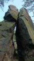 dvě věže na Jouglovce, mně připomínají zkamenělé milence ....