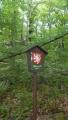 je to rezervace, ale cedule je jen jedna a narazili jsme na ni čirou náhodou ... rezervace je dost vzdálená od všech lesních cest, ze asi stačí jen jedna ...