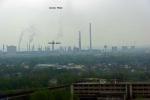 výhled z vrcholu VP1 na ArcelorMittal
