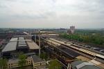 výhled z vrcholu VP1 na provozy Vítkovických železáren