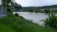 pohled na řeku směrem k Hýskovu ...