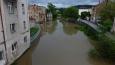 Na Příkopě - rameno řeky a bývalá elektrárna v pekárně ...