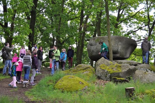 Že jde pro turisty o přitažlivou přírodní atrakci se můžeme po chvíli přesvědčit.