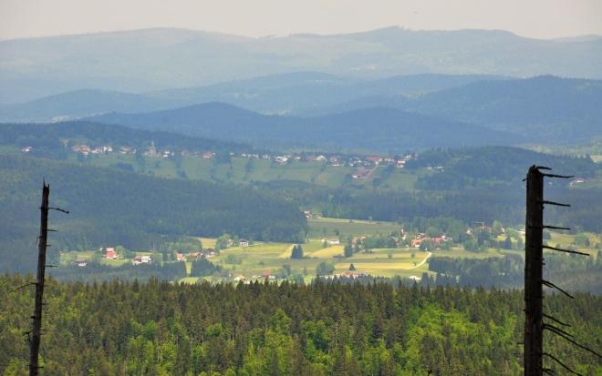 Bishofsreut a Haidmühle (dole).